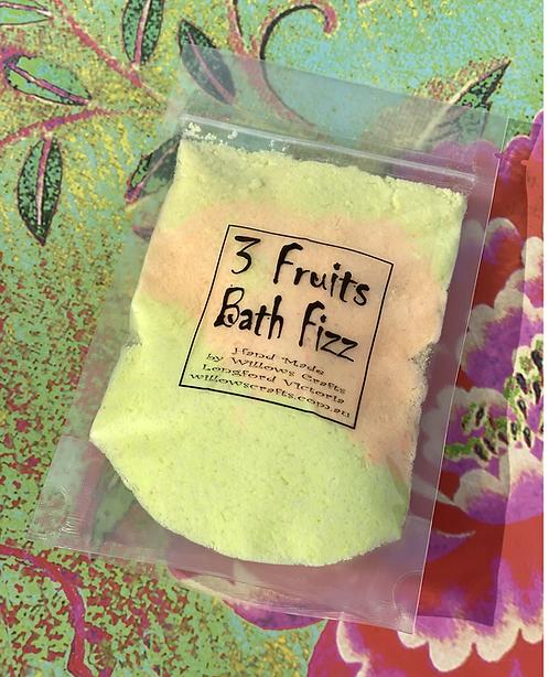 3 Fruits Bath Fizz
