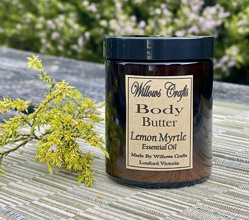 Body Butter  with Lemon Myrtle Essential Oil