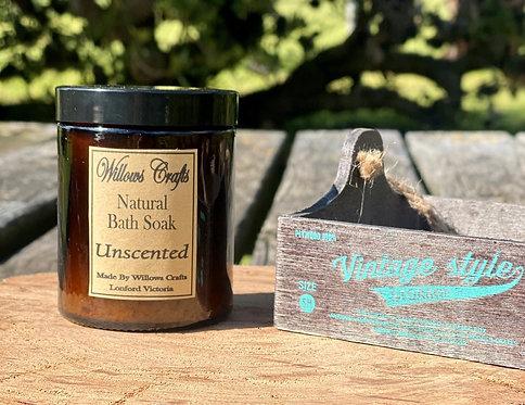 Bath & Foot Soak Amber Jar