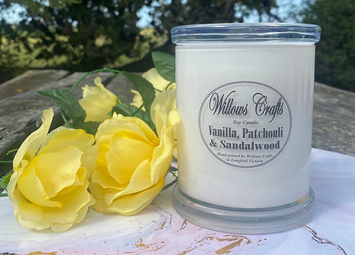 Large Vanilla, Sandalwood & Patchouli Jar