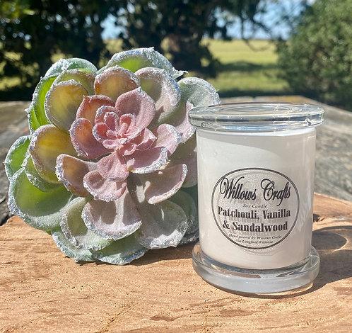 Small Vanilla, Sandalwood & Patchouli Jar