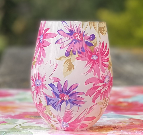 Rose Victorian Rose  Daisy Jar