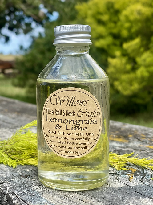 Lemon Grass & Lime Refill Only for Reed Diffuser