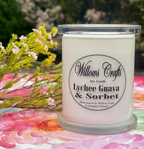 Large Lychee & Guava Sorbet Jar
