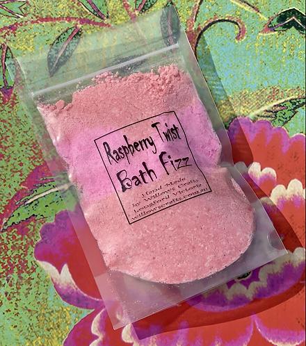 Raspberry Twist Bath Fizz