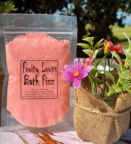 Fruity Loops Bath Fizz