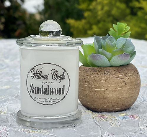 Small Sandalwood Jar