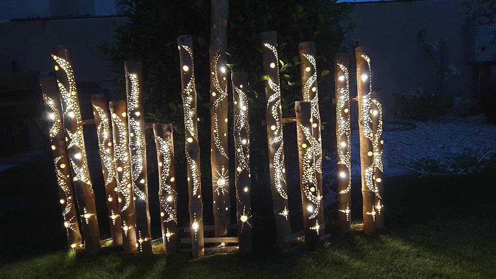 Bamboo Lights Outdoor IP67