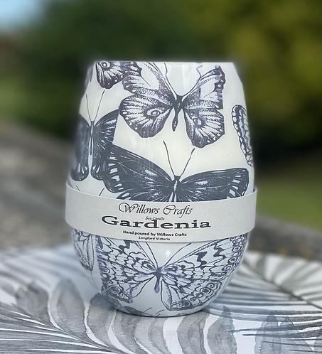 Gardenia Butterfly Jar