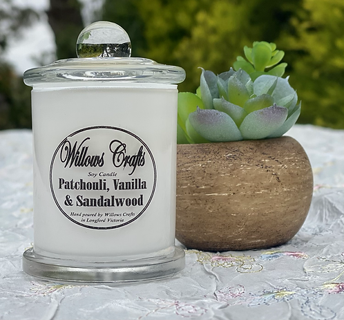Small Vanilla, Sandalwood & Patchouli Jar