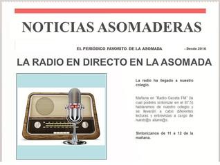 LA RADIO EN DIRECTO EN LA ASOMADA