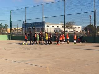 Partido de fútbol sala alevín masculino                                CEIP La Asomada - CEIP Gabrie