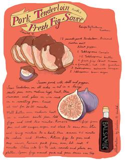 Pork Tenderloin With Fresh Fig Sauce