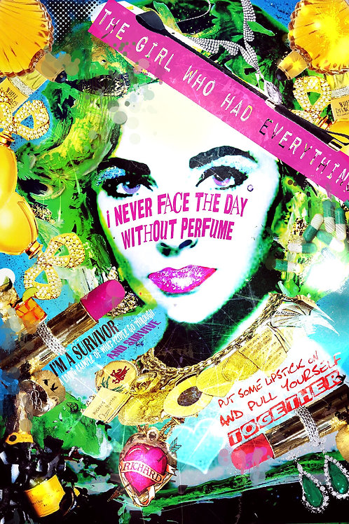 The Girl Who Had Everything, Elizabeth Taylor (Limited Edition Print)