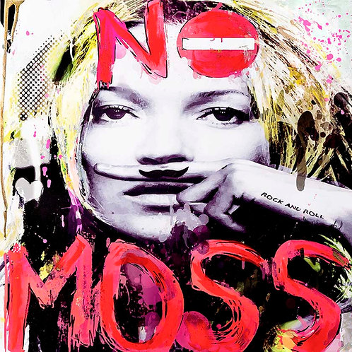 No Moss, Kate Moss (Limited Edition Print)