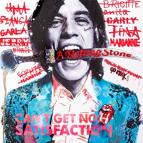 Can't Get No Satisfaction, Mick Jagger (Limited Edition Print)