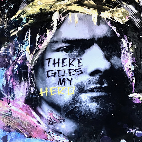 There Goes My Hero, Kurt Cobain (Limited Edition Print)