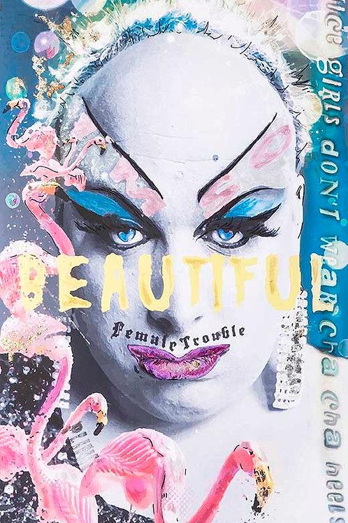I'm So Beautiful, Divine (Glen Milstead) (Limited Edition Print)