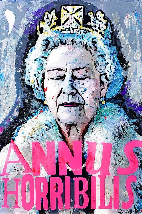 Annus Horribilis, Queen Elizabeth II (Limited Edition Print)