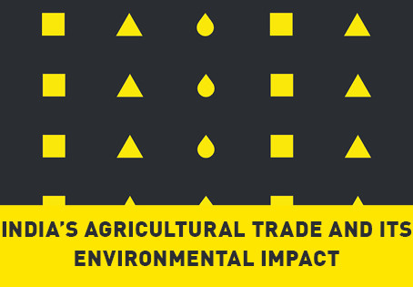 India's Agricultural Trade and its Impact on the Environment