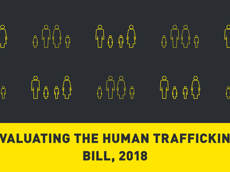 Evaluating the Human Trafficking Bill, 2018