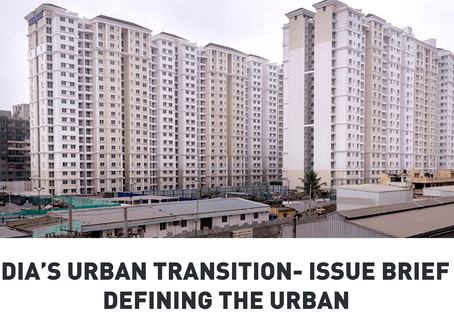 India's Urban Transition: Defining the Urban