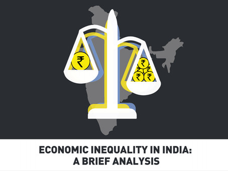 Economic Inequality in India: A Brief Analysis