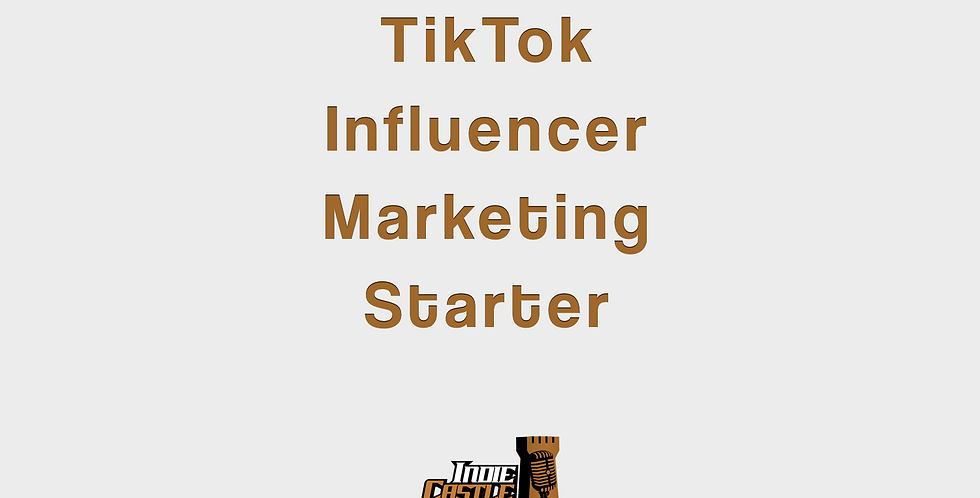 Tik Tok Influencer Marketing Starter