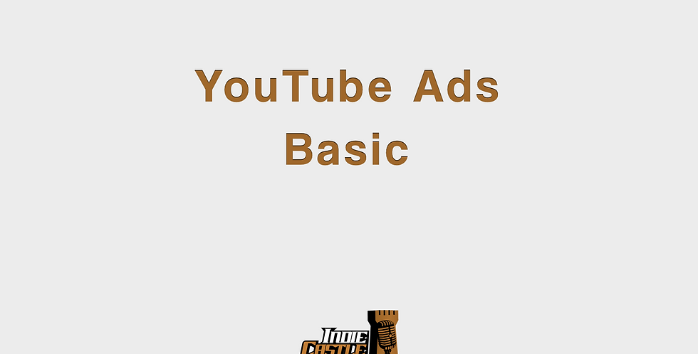 Yotube Ads Basic