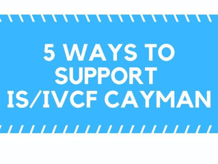 5 Ways to Get Involved with IS/IVCF KY