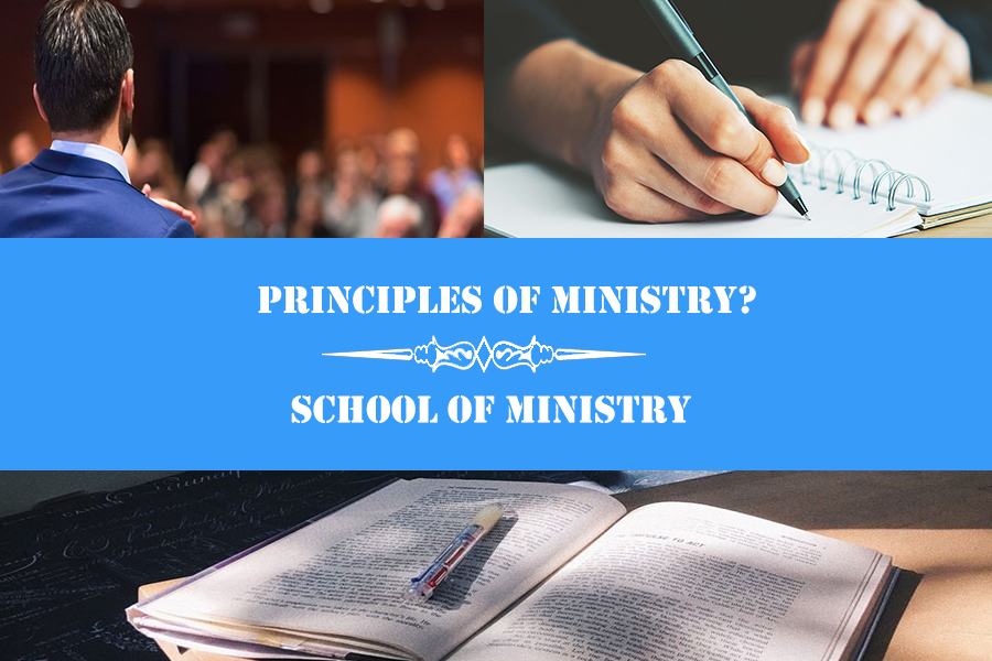 principle of ministry