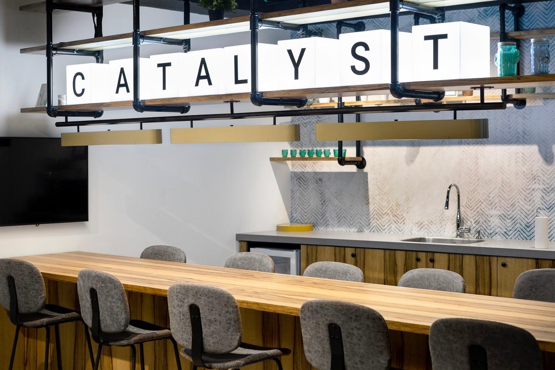 Deloitte cafeteria
