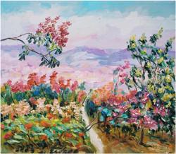 E07 繽紛心陶 Colorful Joy 53.0x45.5cm 2003 油畫.JPG