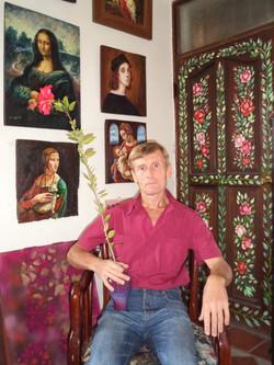 畫室門的彩繪 - 烏克蘭繪畫藝術