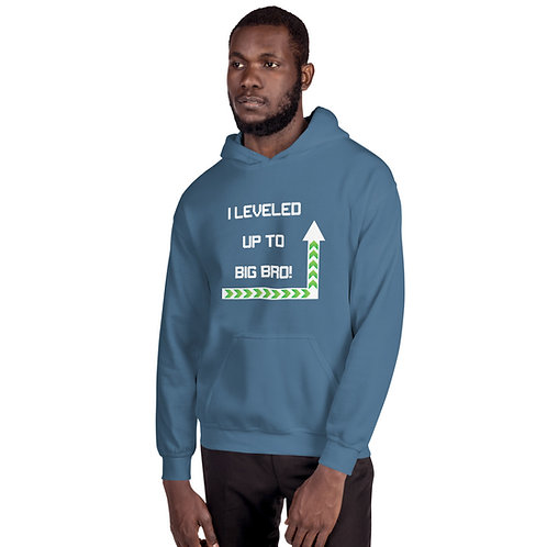 Leveled Up To Big Brother Unisex Hoodie