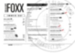 FOXX_Speisekarte