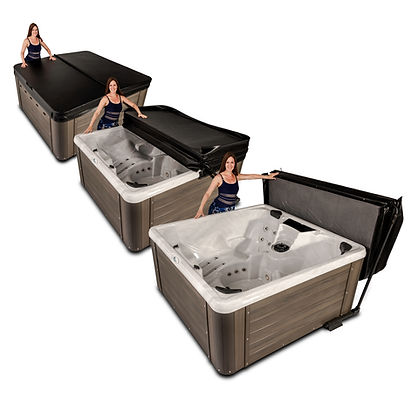 SMP18-Tub Three UNDER MOUNT CoverLifter