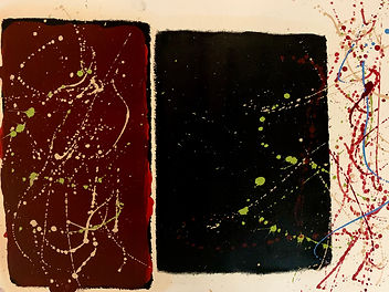 18x24 - Oil Paint on Paper - %22It Was E