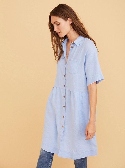 Part Two - Hatla Dress - Vista Blue