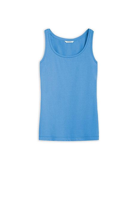Sandwich -Sleeveless T Shirt - Fresh Sky