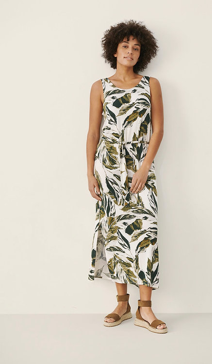 Part Two - IIonPW Dress - Green Palm Print