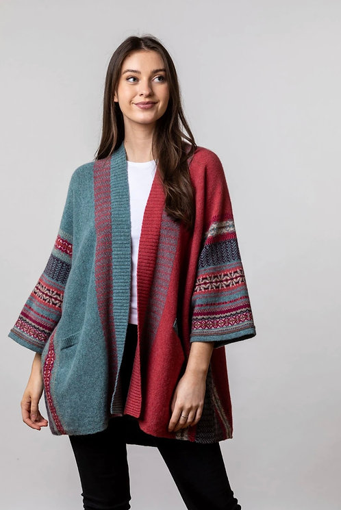 Eribe  - Montrose Blanket Coat - Old Rose