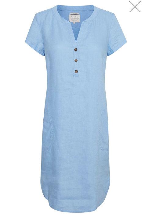 Part Two - Aminass Dress -Vista Blue