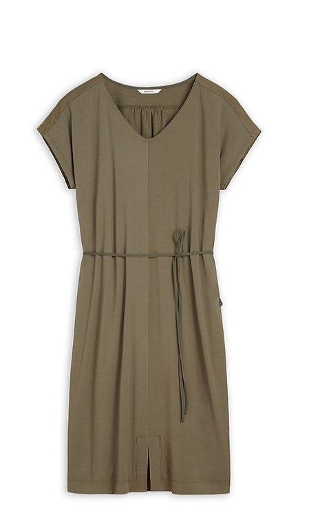 Sandwich -Jersey Dress-Spring Olive