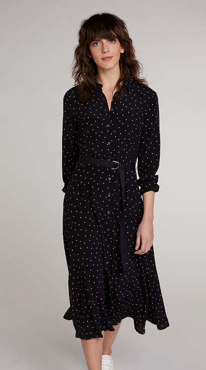 Oui -ShirtDress - Dot Print