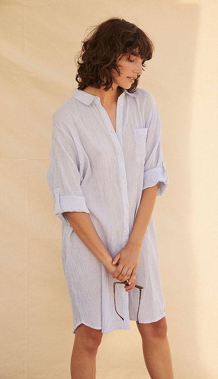 Part Two - IsidoraPW Dress - Brunnera Blue Stripe