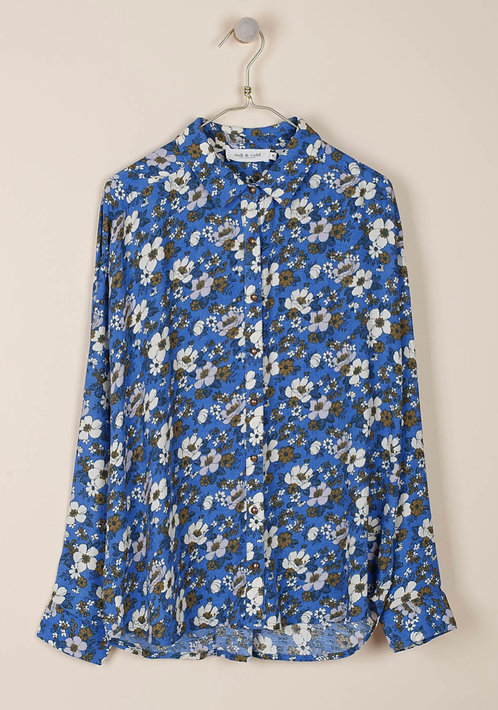 indi & cold -Floral Print Sienna Blouse