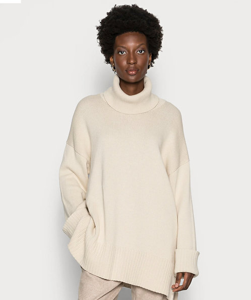Part Two -KeikePW Pullover -Whitecap Grey