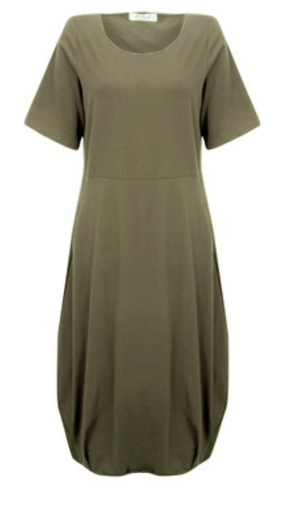 Mama B - Dogliani Dress -Thyme