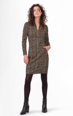 Sandwich -Zebra Print Dress